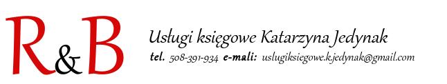 Usługi księgowe R&B Katarzyna Jedynak